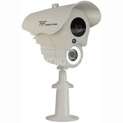 White LED Array Indoor/Outdoor Camera 420 TVL Night Vision - CAM-LA-BS14420-W