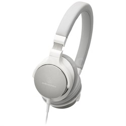 On-Ear High-Resolution Audio Headphones - White