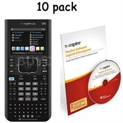 NspireCX CAS Teacher Calculator Pack - N3CAS/TPK/2L1/B