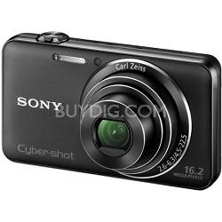 "DSC-WX50/B - 16.2MP CMOS Sensor Digital Camera 5X Optical Zoom 2.7"" LCD (Black)"