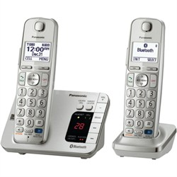 KX-TGE262S Link2Cell Bluetooth Enabled Phone - OPEN BOX