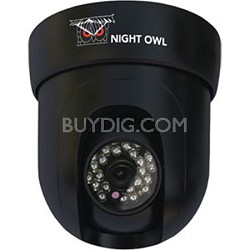 Pan/Tilt CCD Camera (420TVL) System, 100ft Easy Connect Cable