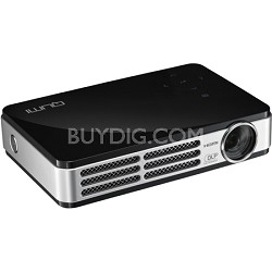 Qumi Q5 500 Lumen WXGA HD 720p 3D-Ready Pocket DLP Projector (Black) Refurbished