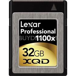 32GB Professional 1100x XQD Card - LXQD32GCTBNA1100