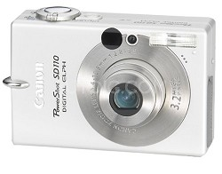 Powershot SD110 Digital ELPH Camera