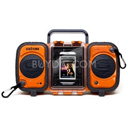 GDI-AQ2SI60 ECOXGEAR Rugged and Waterproof Stereo Boombox