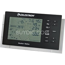 47009 Deluxe Weather Station (Black)