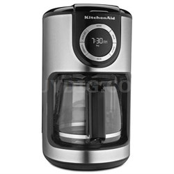 12-Cup Glass Carafe Coffee Maker in Onyx Black - KCM1202OB