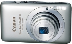 PowerShot SD1400 IS Digital 14.1 MP ELPH Digital Camera (Silver)