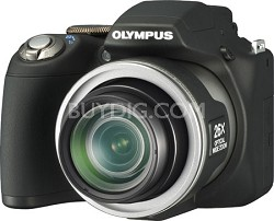 "SP-590 Ultra-Zoom 12MP 2.7"" LCD Digital Camera (Black) - REFURBISHED"