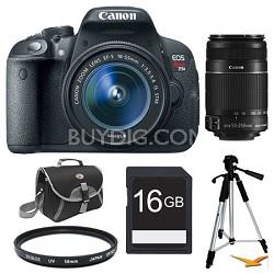 EOS Rebel T5i SLR Digital Camera 16 GB Two Lens Ultimate Rebel Experience