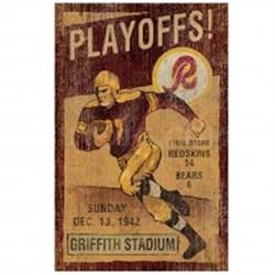 Wsh Redskins Vintage Wall