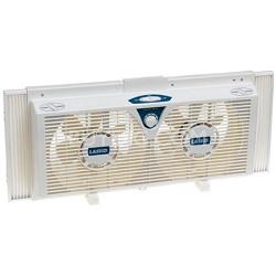 """8"""" Electrically Reversible Twin Window Fan - 2138 - OPEN BOX"""
