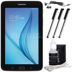 "Galaxy Tab E Lite 7.0"" 8GB (Wi-Fi) Black Accessory Bundle"