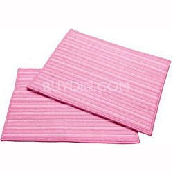 2-Ultra Microfiber Cleaning Pads, Pink (MF-2P)