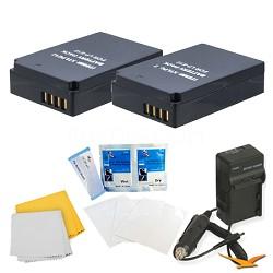 2 Pack Battery Kit For The EOS REBEL SL1
