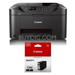 MAXIFY MB2020 Wireless Home Office All-in-One Printer + Bonus Black Ink Bundle