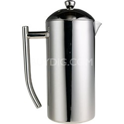 Polished Stainless French Press  36oz