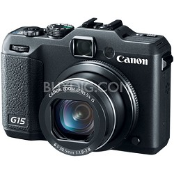 Powershot G15 12 MP High-Performance Digital Camera