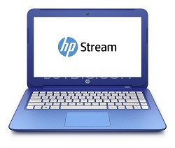 Stream 13 Laptop with Free Office 365 Personal for One Year, 4G  - Horizon Blue