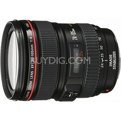 EF 24-105mm f/4 L IS USM Lens for Canon EOS SLR Cameras