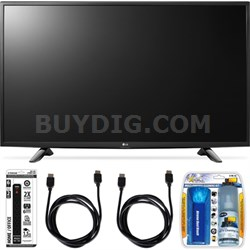 43LH5700 43-Inch Full HD Smart LED TV Accessory Bundle