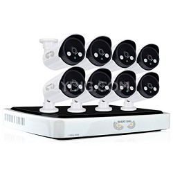 1080p 8 Channel NVR System with 8x1080p IP Cameras, 2 TB HDD