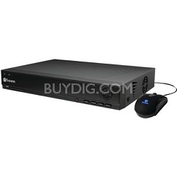 DVR4-1000 D1 4 Channel Digital Video Recorder with 500GB HDD - SWDVR-41000H