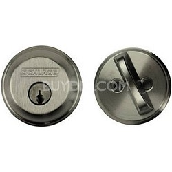 Single Cylinder Deadbolt (Satin Chrome Finish)