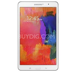 "Galaxy Tab Pro 8.4"" White 16GB Tablet - 2.3 GHz Quad Core Processor Refurbished"