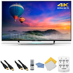 XBR-49X830C - 49-Inch 4K Ultra HD Smart Android LED HDTV + Hookup Kit