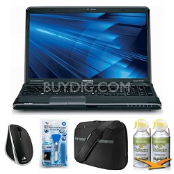 "Satellite A665-3DV5 15.6"" Notebook PC Essentials Bundle"
