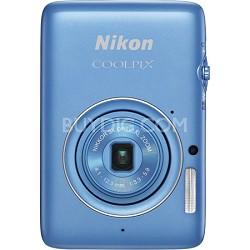 "COOLPIX S02 13.2MP 3x Opt Zoom 2.7"" LCD Blue Digital Camera"