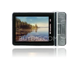 "2.4"" Color MP3 Video Player 4GB W/Built-in 5MP Digital Camera - Black"