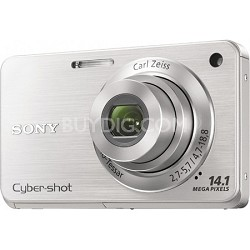 Cyber-shot DSC-W560 Silver Digital Camera