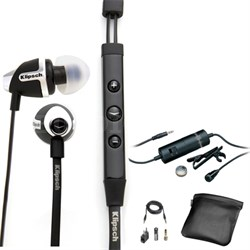 Image S4i - II Black In-Ear Headphones - 1014813 with Audio-Technica Microphone