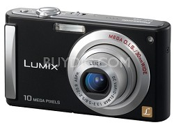 DMC-FS5K (Black) 10 Megapixel Digital Camera w/ 2.5-inch LCD & 4x Optical Zoom
