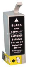 Ink Cartridge (Black High Capacity) for Epson Stylus C86 / CX6400 / CX6600