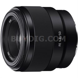 FE 50mm F1.8 Full-frame Prime E-Mount Lens - SEL50F18F