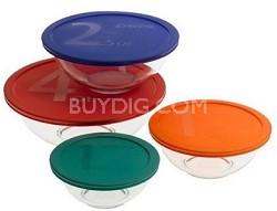 Smart Essentials 8-Piece Mixing Bowl Set