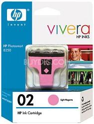 HP 02 Light Magenta Ink Print Cartridge