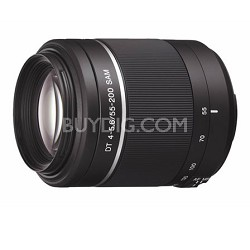 SAL55200 - DT 55-200mm f4-5.6 Compact Telephoto Zoom A-Mount Lens