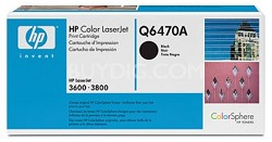 Black Print Cartridge for LaserJet 3600 & 3800 Printers