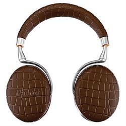 Zik 3 Wireless Bluetooth Headphones w/ Wireless Charger (Brown Croc)