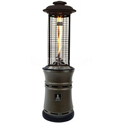 51,000 BTU Liquid Propane Gas Italia Ember Patio Heater - Heritage Bronze