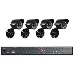 4 Channel DVR & 4 Indoor/Outdoor Security Cameras