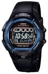 G-Shock Multi-Band Atomic Solar Resin Blue IP Bezel