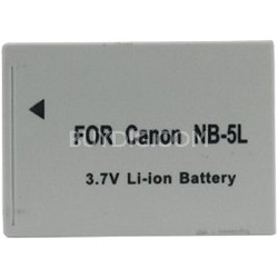 Premium Tech PT-NB5l  1200mah Battery Pack F/ Powershot  SD850, SD900 (NB-5L)