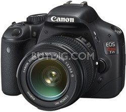 EOS Rebel T2i 18 MP CMOS Digital SLR & 18-55IS Factory Refurbished