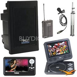 Explorer Bonus Naxa LCD TV & portable DVD player Kit